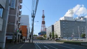 大通とテレビ塔
