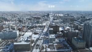 展望室東サイドからの眺望(1)
