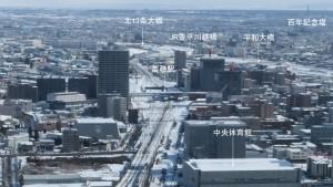 展望室東サイドからの眺望(2)