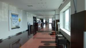 JRタワー展望室内の通路