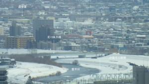 展望室東サイドからの眺望(5)