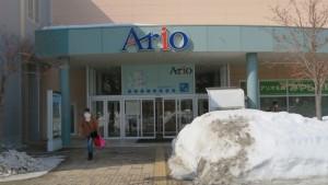アリオ札幌1階出入口