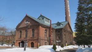 サッポロビール園(開拓使館)と煙突