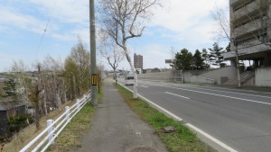 五輪通と西岡高架橋