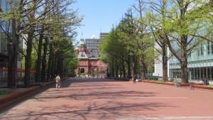 北3条広場と道庁赤レンガ【北3条広場】