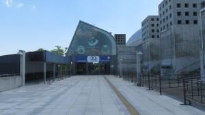 札幌ドーム北ゲート入口